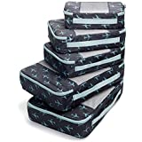TravelWise Packing Cubes, Navy Airplanes, Set