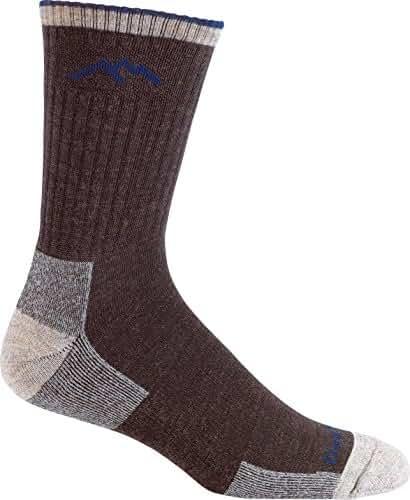 Darn Tough Men's Merino Wool Micro Crew Sock Cushion, Chocolate