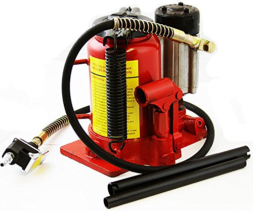 Ton Hydraulic Bottle Jack Press - 20 Ton Air Hydraulic Bottle Jack Manual Lifts Hoist