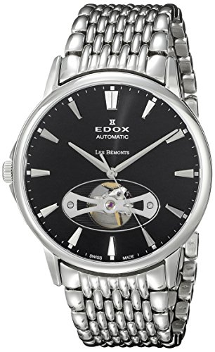 Edox-Mens-85021-3M-NIN-Les-Bemonts-Analog-Display-Swiss-Automatic-Silver-Watch