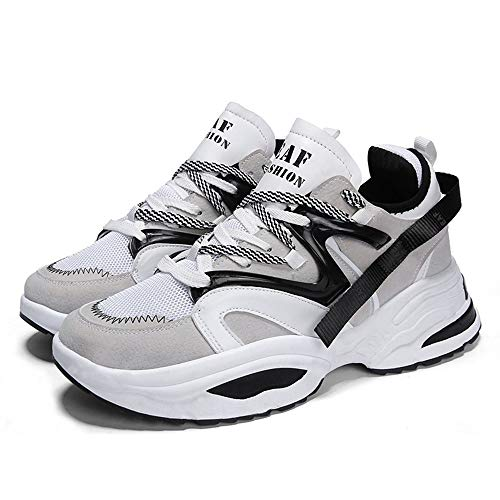 sale retailer 6b98b e054c Men s Retro Color Blocked Fashion Sneakers Sport Running Shoes Walking  Casual Athletic Shoes (7.5,