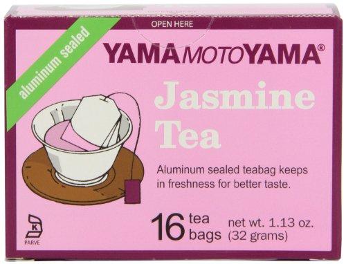 Yamamotoyama Jasmine Tea, 1.13-Ounce Boxes (Pack of 12)