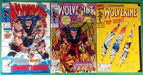 Wolverine (1988) 48 49 50 Complete 3 Part Set Shiva Scenario Sequel to Weapon X