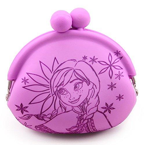 Chaveiro Porta Moeda Anna (Rosa/lilás) Frozen - Disney