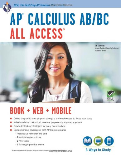 AP® Calculus AB/BC All Access Book + Online + Mobile (Advanced Placement (AP) All Access)