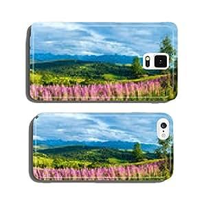 Summer mountain country panorama (Gliczarow Gorny, Poland) cell phone cover case Samsung S6