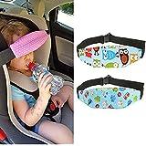 Holoras Kids Safety Car Seat Sleep Aid Head Support Belt, Baby Children Head Support Holder Belt for Traveling Sleep Nap, 2pcs