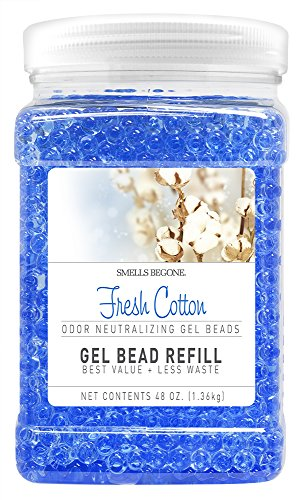 Smells Begone Odor Eliminator Gel Bead Refill - Eliminates O