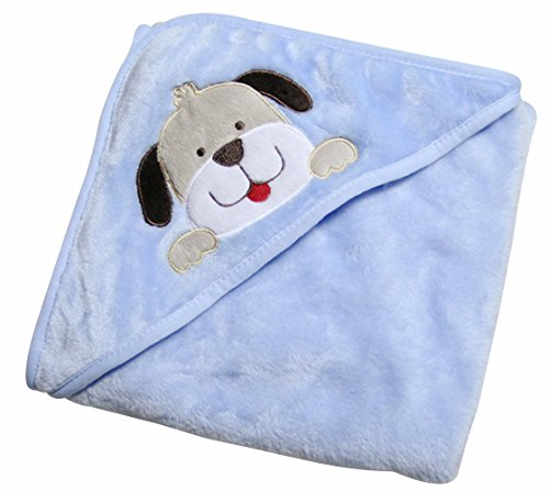Feibi Baby Blanket,Animal Hooded Receiving Blanket, 0-12 months,30