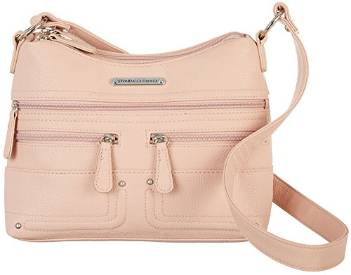 Stone Mountain Ilyssa Hobo Handbag One Size Blush (Blush Hobo)
