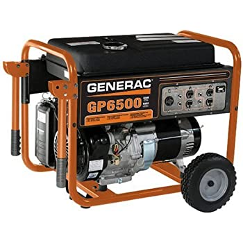 Amazon Com Generac 5623 Gp6500 8 000 Watt 389cc Ohv
