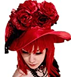 Black Butler Kuroshitsuji Madam Red Cosplay Costume Wig
