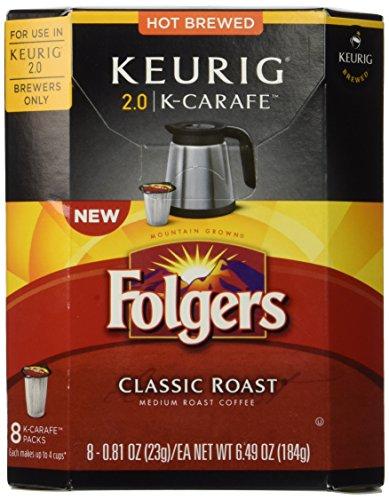 Folgers Classic Roast - K Carafe - 8 ct