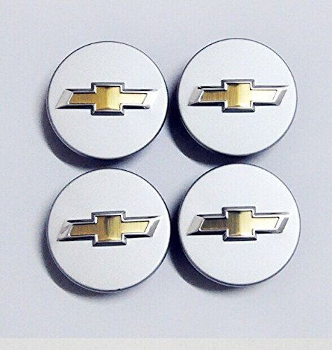 Camaro Center Cap - Tripoint® 4 PCS Chevy Bow Tie Emblem Wheel Hubcaps Center Covers 20 pins for Camaro Malibu Cruze Equinox Impala Volt HHR Cobalt 59mm