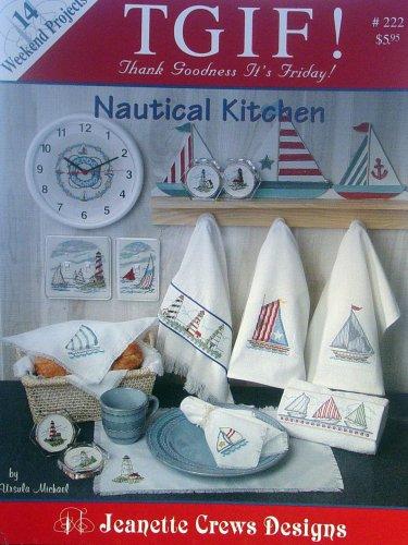 TGIF Nautical Kitchen, 14 Weekend Cross Stitch Projects