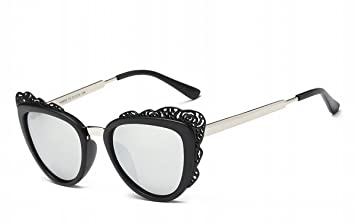 Butterfly Thread Vides Art Rétro Polarisé Lunettes De Soleil Femme Mode Hommes Lunettes Cadre Noir Blanc Mercure ZhHg40p