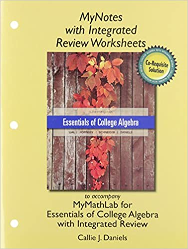 MyNotes with Integrated Review Worksheets for Essentials of ...