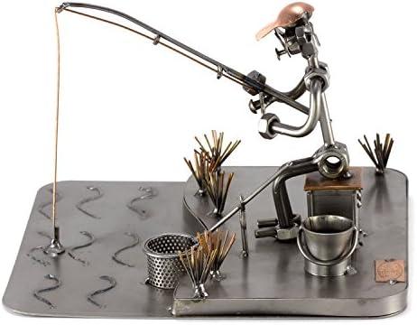 Steelman24 I Pescador En El Mar con Grabado Personal I Made in Germany I Idea para Regalo: Amazon.es: Hogar