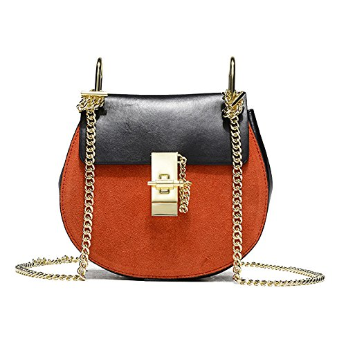 à Sac Sac Main Casual Blackwithorange à Lady Bag HAOXIAOZI Bandoulière Vintage Mode Messenger gFqT0Y0