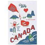 Now Designs Tea Towel, O Canada Print