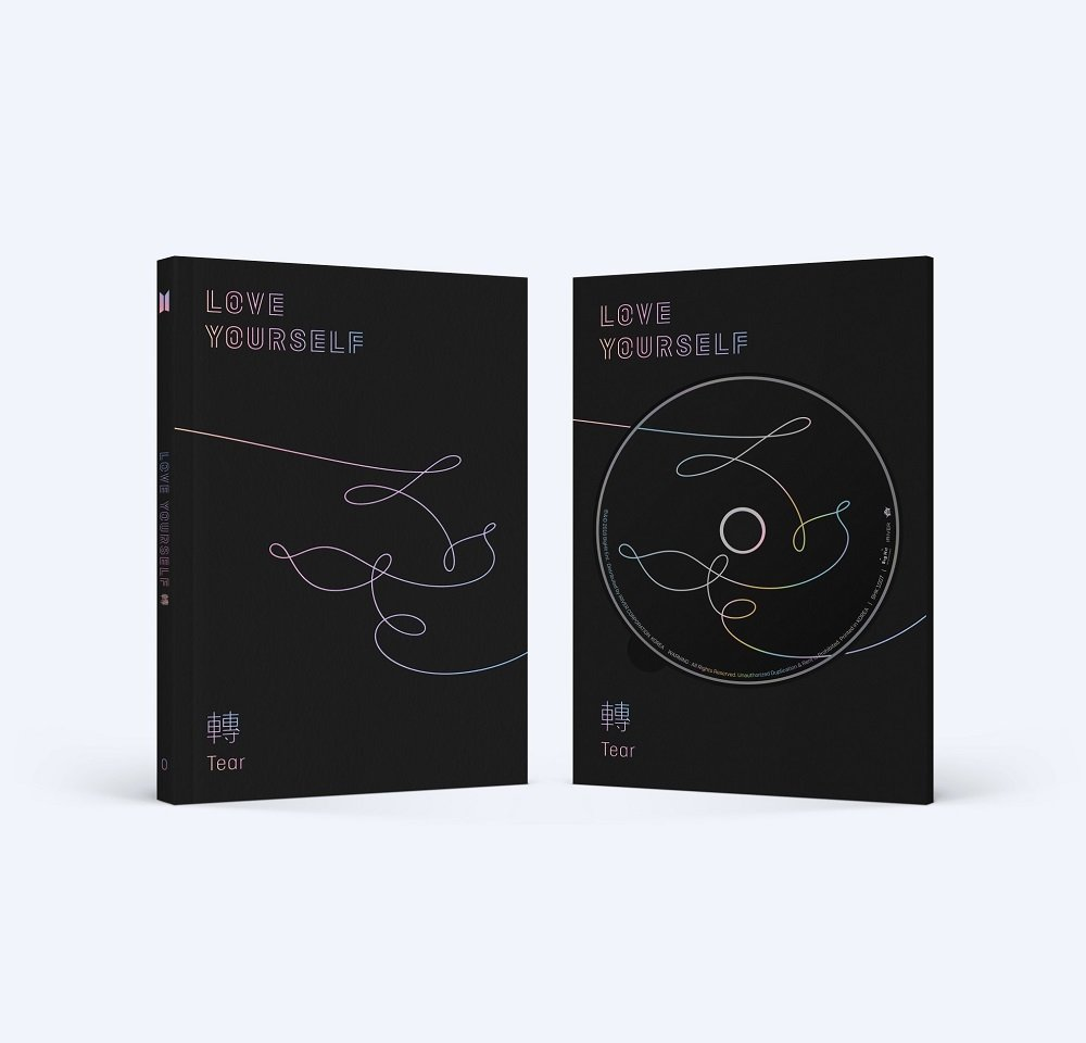 CD : BTS - Love Yourself: Tear [O ver.]