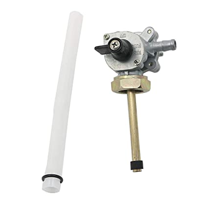 Amazon com: Motoparty Fuel Gas Petcock Valve Switch Pump For