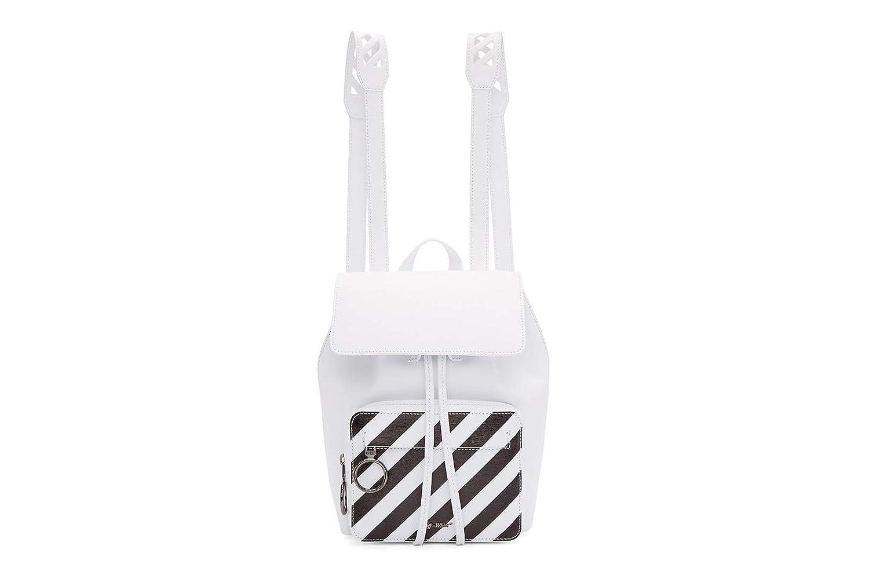 Off-White Mini Backpack White オフ-ホワイト ミニバックパック リュック 2WAY ホワイト   B07PPKYB12