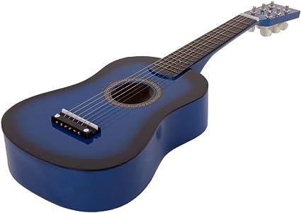 Guitarra acústica para principiantes, 23 pulgadas, con cuerdas ...