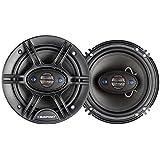 Blaupunkt 6.5-Inch 360W 4-Way Coaxial Car Audio Speaker, Set of 2