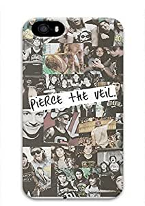 Pierce The Veil Quotes PTV Quotes Back Case Cover for iPhone 6 plus 5.5 Yang's Case