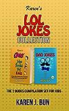 Karen's LOL Jokes Collection: The 2 Books Compilation Set For Kids