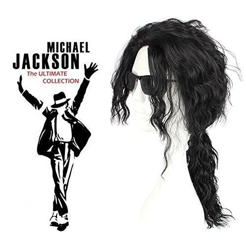 Mcoser Michael Jackson Cosplay Costume Wig
