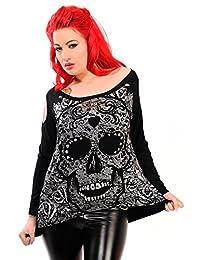 Banned Candy Skull Sweatshirt