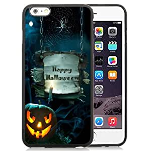 Beautiful Custom Designed Cover Case For iPhone 6 Plus 5.5 Inch With Happy Halloween Phone Case
