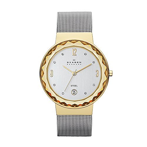 (Skagen Women's SKW2002 Leonora Stainless Steel Mesh Watch)