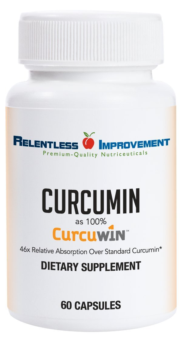 Relentless Improvement CurcuWin Curcumin