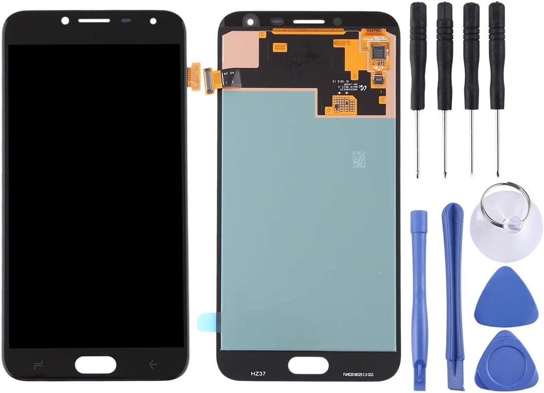 Black Color : Black 2018 YANGJ Phone LCD Screen LCD Screen and Digitizer Full Assembly for Galaxy J4