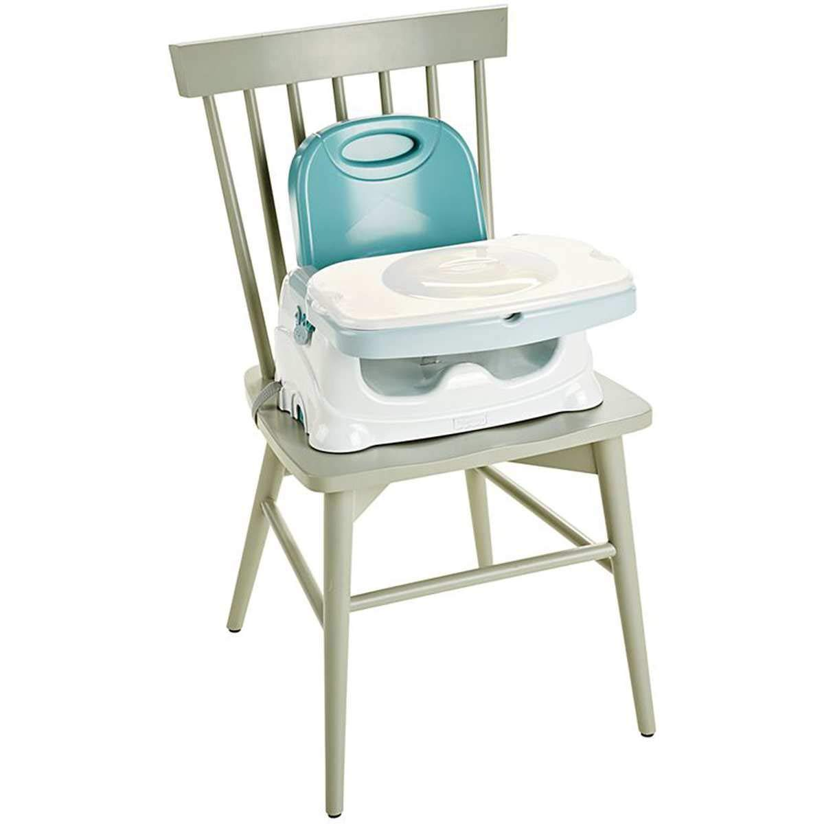 Exclusive Blue//Green Fisher-Price Healthy Care Booster Seat
