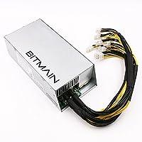 Bitmain Antminer New Power Supply APW7 PSU 1800w 110v 220v Much Better than APW3++ for S9 or L3+ or Z9 mini or D3 w/ 10 Connectors