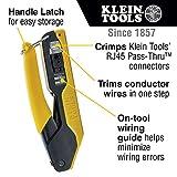 Klein Tools Compact Pass-Thru Modular Crimper