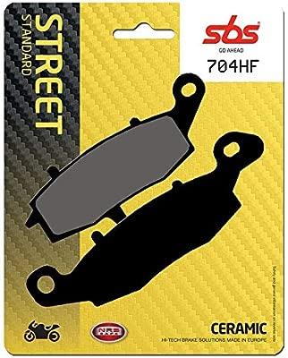 Pastilla de Freno SBS P704-HF: Amazon.es: Coche y moto