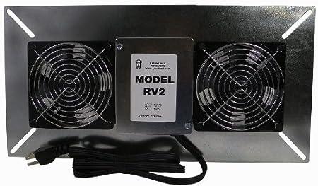 Tjernlund RV2 Radon Ventilation Fan for Ventilated Crawl Spaces