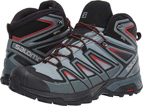 Salomon Men's X Ultra 3 Mid GTX Boots Lead/Stormy Weather/Bossa Nova 11 (Gtx Bootie)