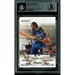 938dc0c981392f Knicks Jordan Hill Signed Card 2009 Prestige RC  158 BAS Slabbed - Beckett.