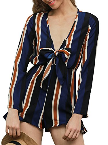 Striped Playsuit - 5