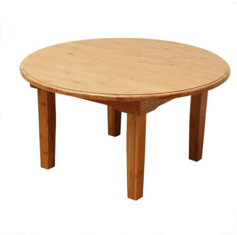 Folding Table Square Folding Table Solid Wood Bamboo Table