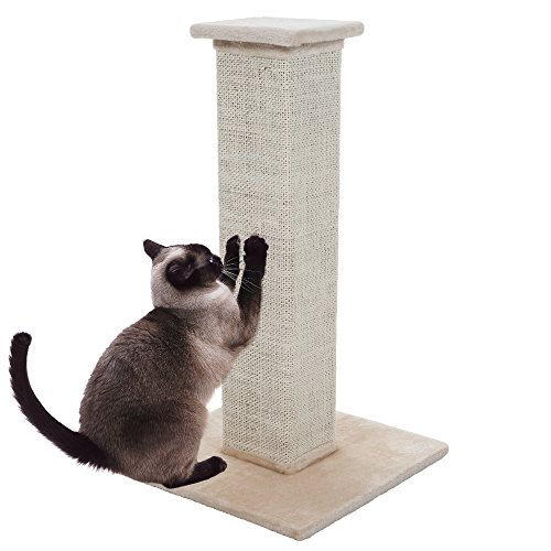 PETMAKER Sisal Burlap Cat Scratching Post, 28