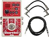 Hartke HPHL77 Bass Looper Pedal w/ 3 Cables