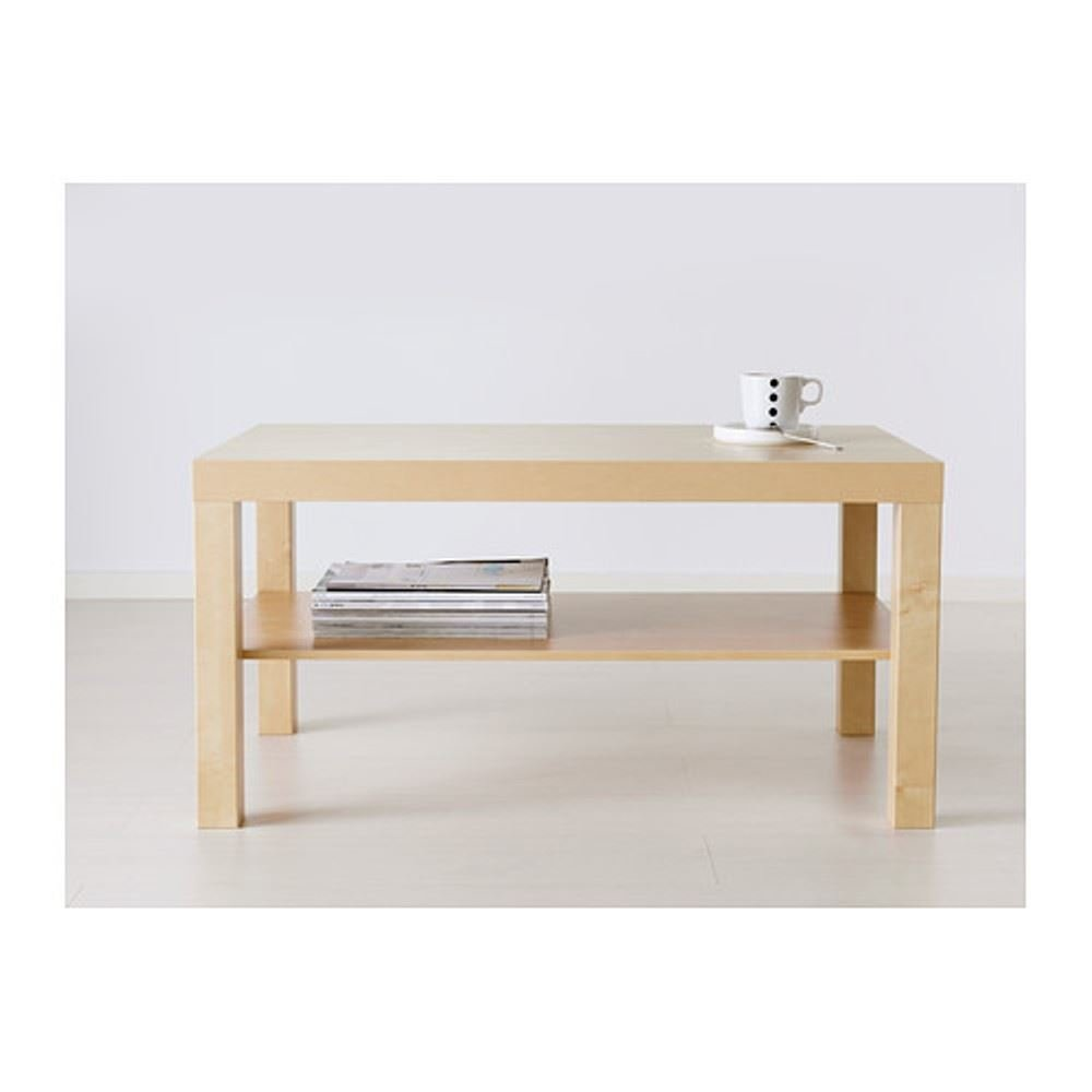 Amazoncom LACK COFFEE TABLE BIRCH EFFECT by Ikea Kitchen Dining