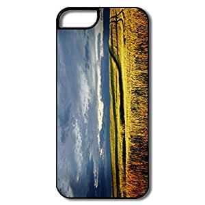 linfenglinDesign Your Own Amazing Design Slim Case Silent Meadow IPhone 5/5s Case For Him